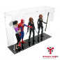 Preview: 1/6 Scale 12 Inch Figuren Acryl Vitrine