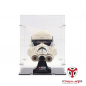 Preview: 75276 Stormtrooper Helm - Acryl Vitrine