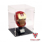 Mobile Preview: 76165 Iron Man Helm - Acryl Vitrine
