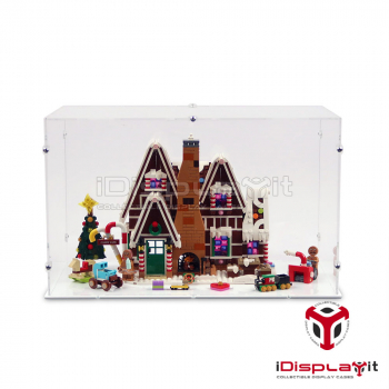 10267 Gingerbread House Display Case