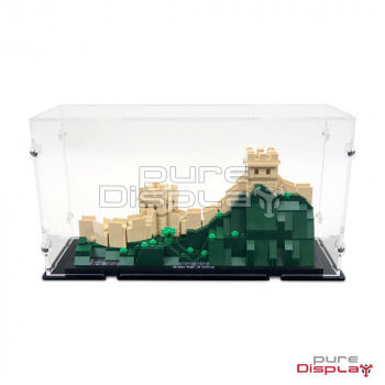 21041 Great Wall of China Display Case