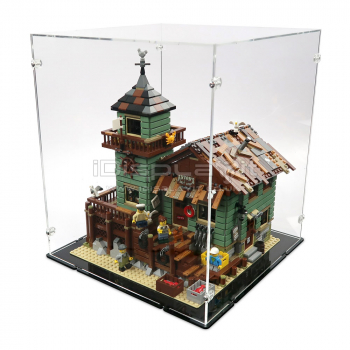 21310 Old Fishing Store Display Case
