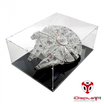 75192 UCS Millennium Falcon (On Horizontal Stand) Display Case