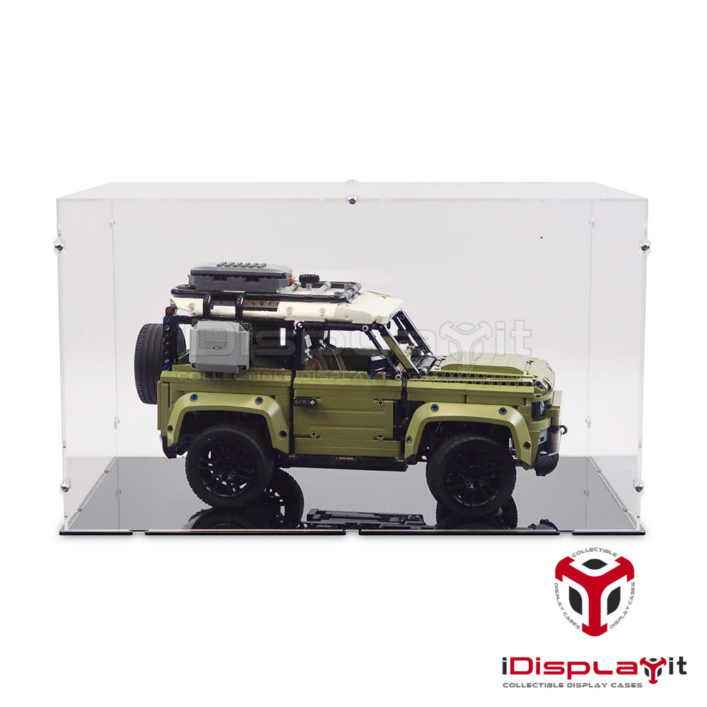 Acrylglas Vitrine Haube für LEGO Modell Land Rover Defender 42110