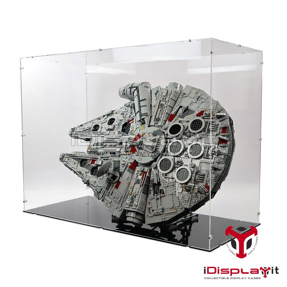 Acryl Vitrine für Lego 75192 UCS Millennium Falcon NEU On Stand