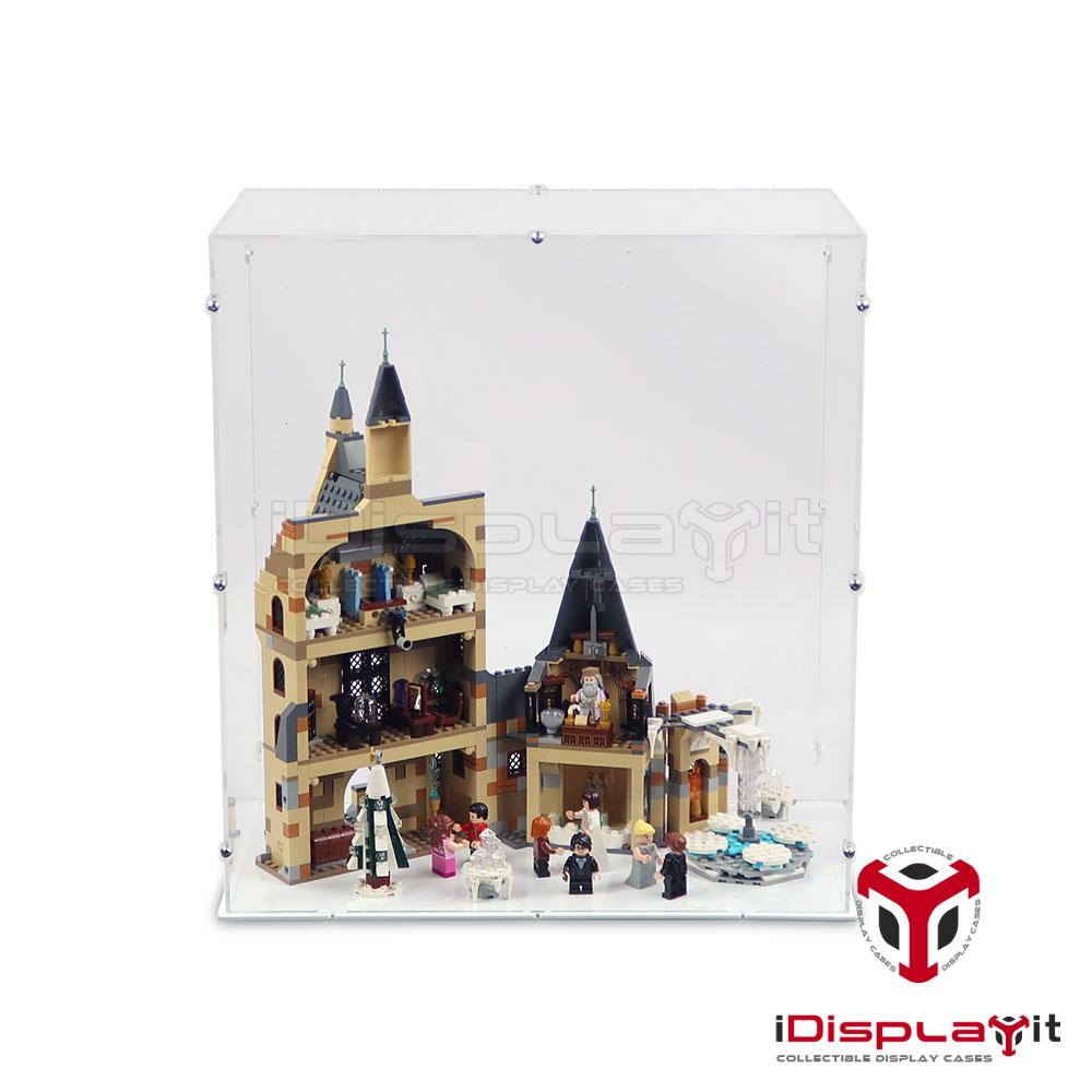 Ohne Modell Kit Showcase Display Case Haudstaub Gesch/ützt Schaukasten wangxike Acryl Vitrine Kompatibel Mit Lego 75979 Hedwig