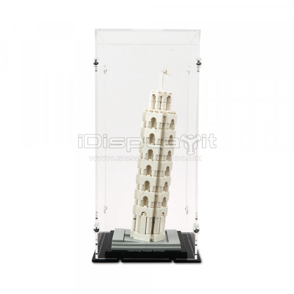 21015 Leaning Tower of Pisa Display Case