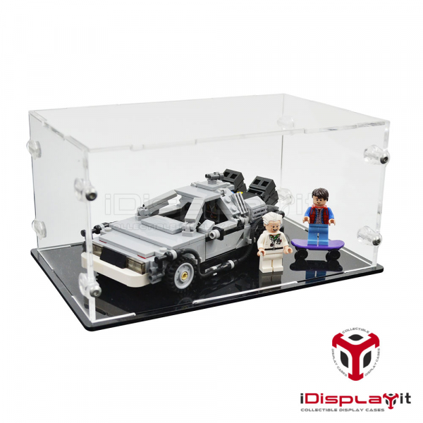 21103 DeLorean Time Machine Display Case