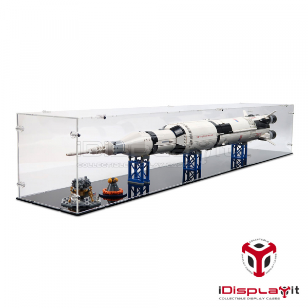21309 / 92176 NASA Saturn V (Horizontal) Acryl Vitrine