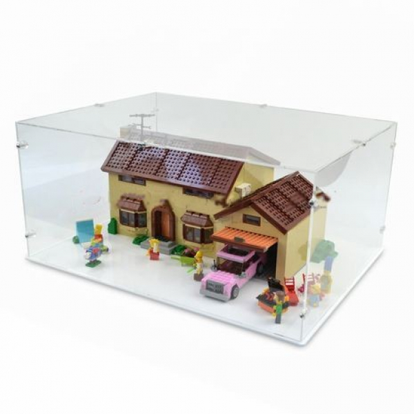 71006 Simpsons House Display Case