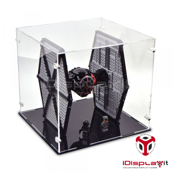 75101 Star Wars First Order Special Forces TIE Fighter Acryl Vitrine