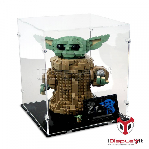 75318 Mandalorian The Child Display Case